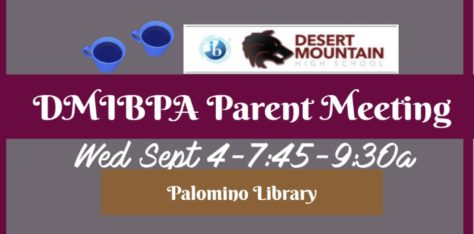 Join us for our first IBPA event of the school year!  Parent Coffee Wednesday, Sept 4th!